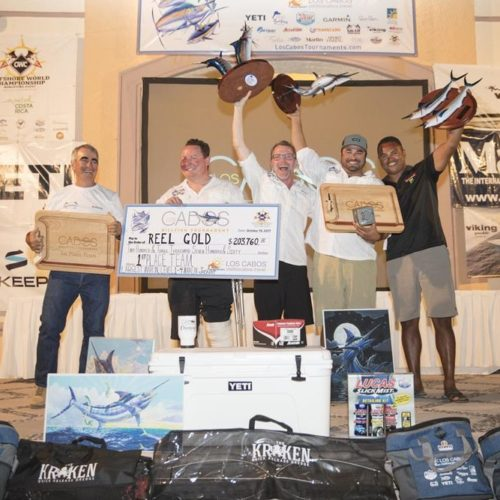 2017 Los Cabos Billfish Tournament Results