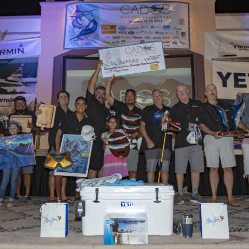 Team El Suertudo Wins the 2019 Los Cabos Billfish Tournament